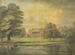 Gunnersbury House near Brentford in the County of Middlesex